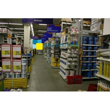 Интегрированный торговый стеллаж 8140